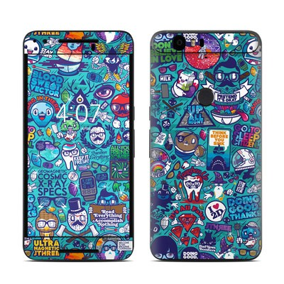 Huawei Nexus 6P Skin - Cosmic Ray