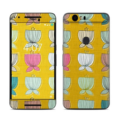 Huawei Nexus 6P Skin - Flower Cups