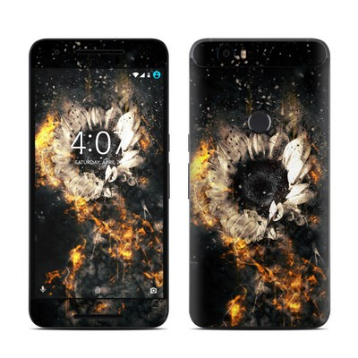 Huawei Nexus 6P Skin - Flower Fury