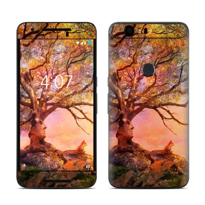 Huawei Nexus 6P Skin - Fox Sunset