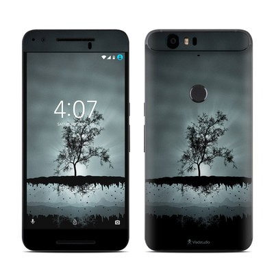 Huawei Nexus 6P Skin - Flying Tree Black