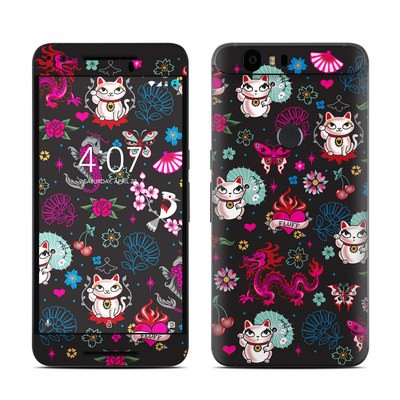 Huawei Nexus 6P Skin - Geisha Kitty