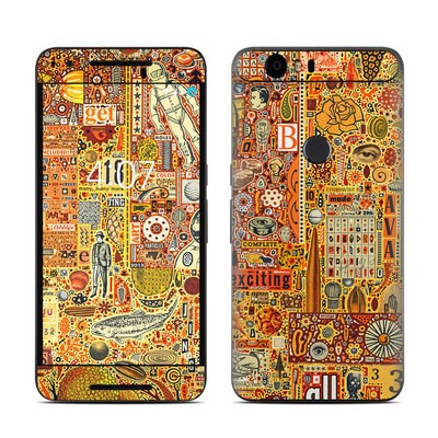 Huawei Nexus 6P Skin - The Golding Time