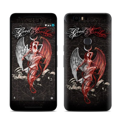 Huawei Nexus 6P Skin - Good and Evil