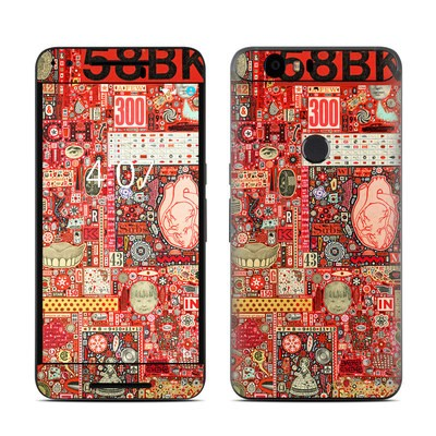 Huawei Nexus 6P Skin - Heart and Teeth