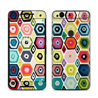 Huawei Nexus 6P Skin - Hex Diamond