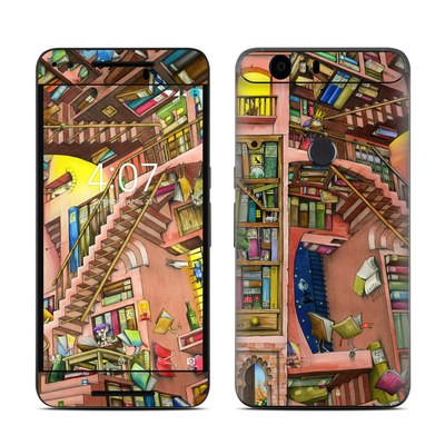 Huawei Nexus 6P Skin - Library Magic