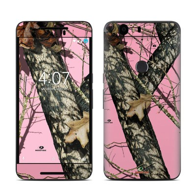 Huawei Nexus 6P Skin - Break-Up Pink