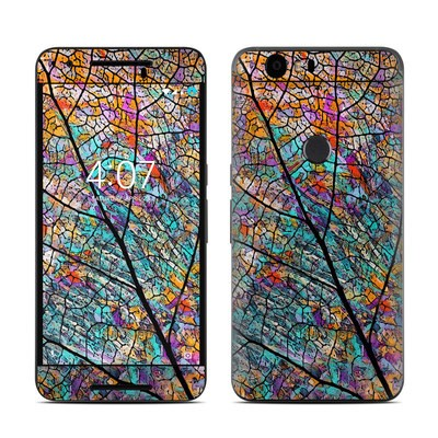 Huawei Nexus 6P Skin - Stained Aspen