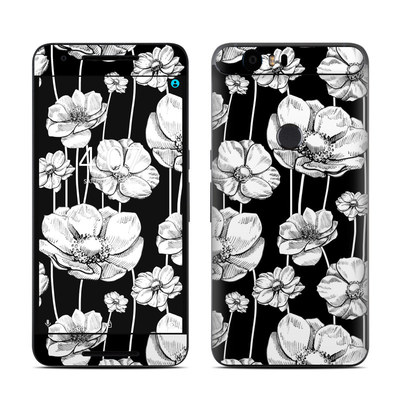 Huawei Nexus 6P Skin - Striped Blooms