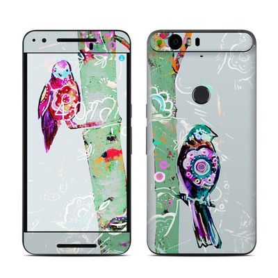 Huawei Nexus 6P Skin - Summer Birch