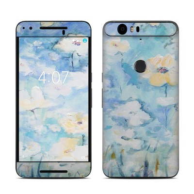 Huawei Nexus 6P Skin - White & Blue