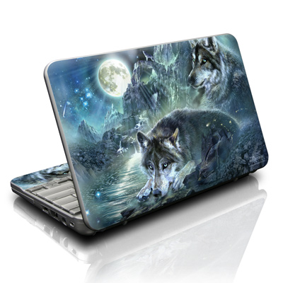 HP Mini Skin - Bark At The Moon