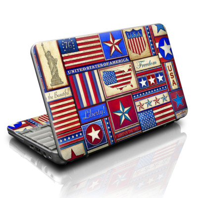 HP Mini Skin - Flag Patchwork