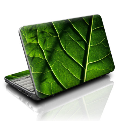 HP Mini Skin - Green Leaf