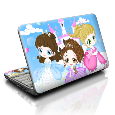 HP Mini Skin - Little Princesses
