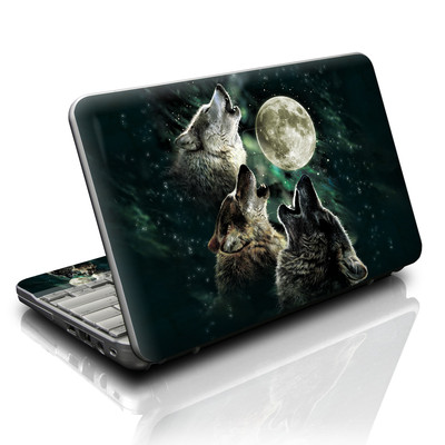 HP Mini Skin - Three Wolf Moon