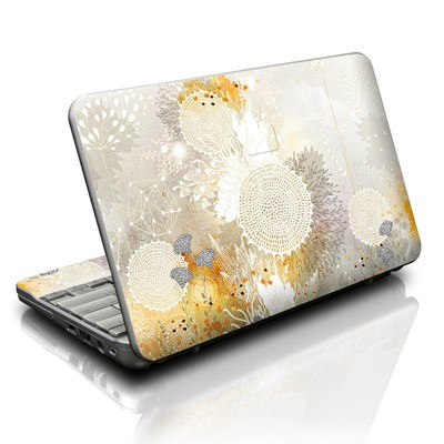 HP Mini Skin - White Velvet