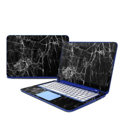 HP Stream 13in Skin - Black Marble