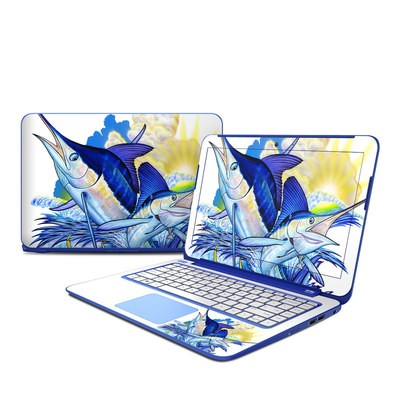 HP Stream 13in Skin - Blue White and Yellow