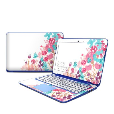 HP Stream 13in Skin - Blush Blossoms