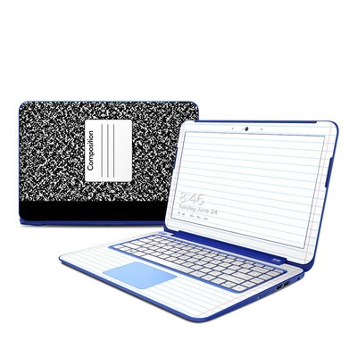 HP Stream 13in Skin - Composition Notebook