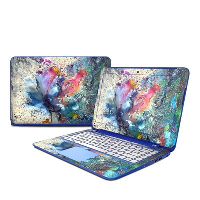 HP Stream 13in Skin - Cosmic Flower