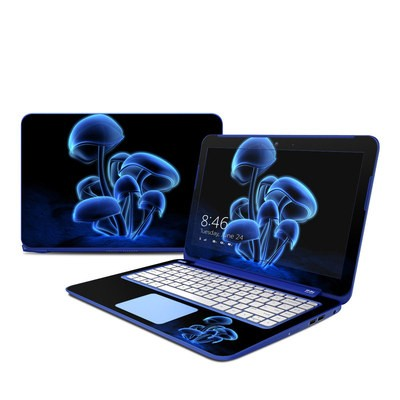 HP Stream 13in Skin - Fluorescence Blue