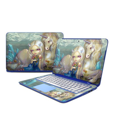 HP Stream 13in Skin - Fiona Unicorn