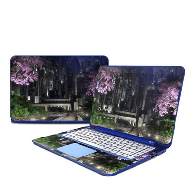 HP Stream 13in Skin - Gotham Garden