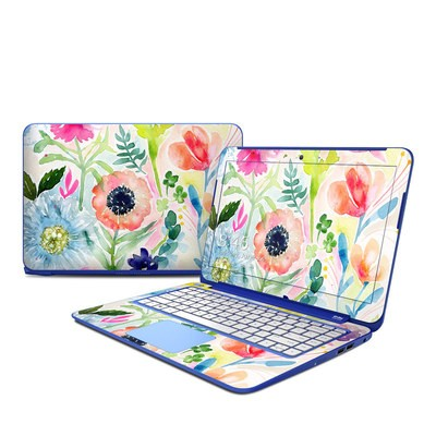 HP Stream 13in Skin - Loose Flowers