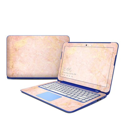 HP Stream 13in Skin - Rose Gold Marble