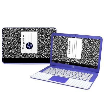 HP Stream 14in Skin - Composition Notebook