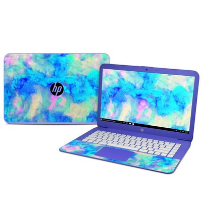 Hp Stream 14in Skin Electrify Ice Blue By Amy Sia Decalgirl