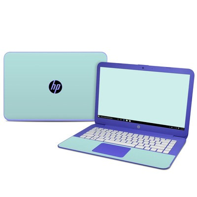HP Stream 14in Skin - Solid State Mint