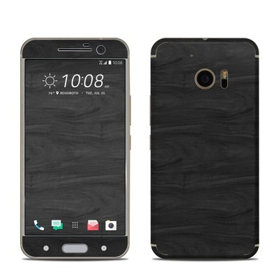HTC 10 Skin - Black Woodgrain