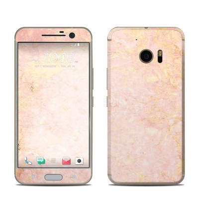 HTC 10 Skin - Rose Gold Marble
