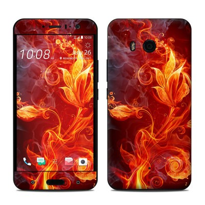 HTC U11 Skin - Flower Of Fire
