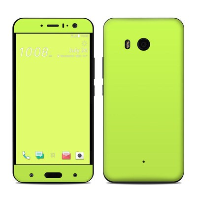 HTC U11 Skin - Solid State Lime