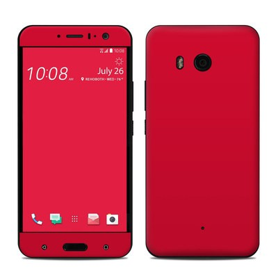 HTC U11 Skin - Solid State Red