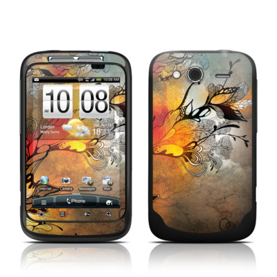 HTC Wildfire S Skin - Before The Storm