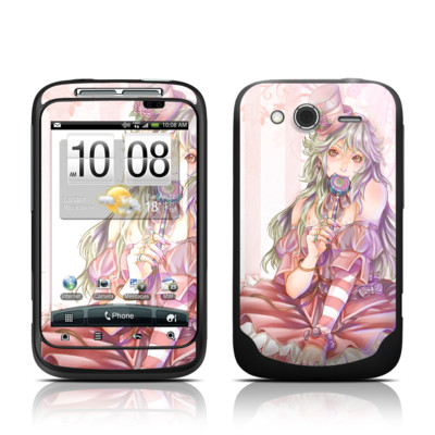 HTC Wildfire S Skin - Candy Girl