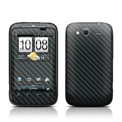 HTC Wildfire S Skin - Carbon