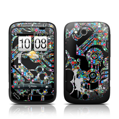 HTC Wildfire S Skin - Circle Madness