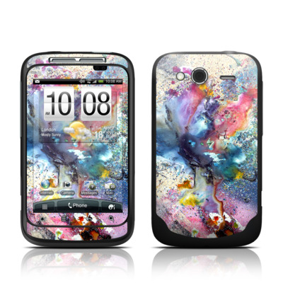 HTC Wildfire S Skin - Cosmic Flower