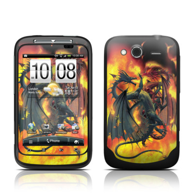 HTC Wildfire S Skin - Dragon Wars