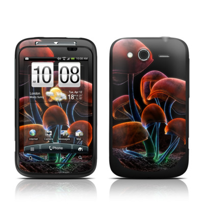 HTC Wildfire S Skin - Fluorescence Rainbow