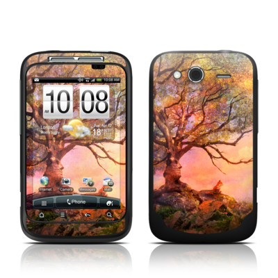 HTC Wildfire S Skin - Fox Sunset