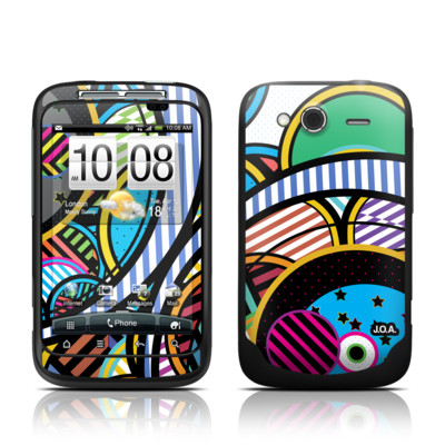 HTC Wildfire S Skin - Hula Hoops