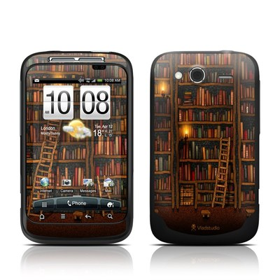 HTC Wildfire S Skin - Library